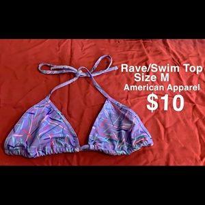 90s style American Apparel bikini top
